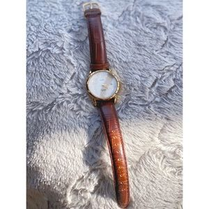 Timex Chestnut Brown & Gold 44 mm Women's Watch